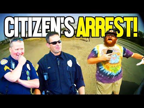 Guy Tries A Citizen's Arrest But Gets Himself Arrested Inste