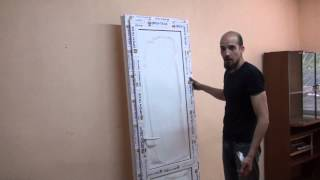 видео Влагостойкие ламинированные двери для ванной комнаты