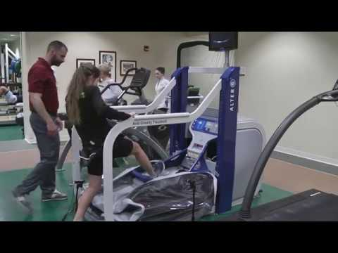 Anti-Gravity Treadmill Helps Patients Bounce Back