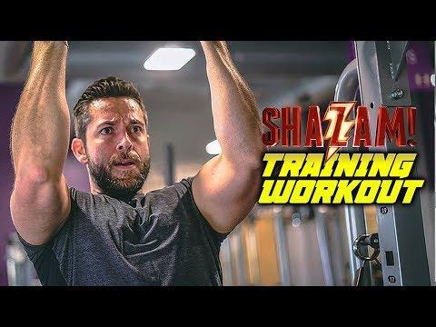 Zachary Levi TRAINING WORKOUT - Shazam!