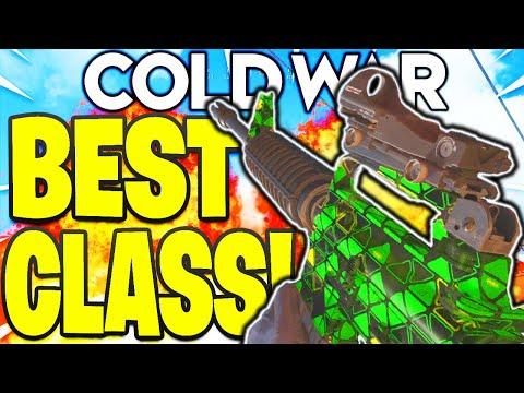 M16 BEST CLASS SETUP COLD WAR! \