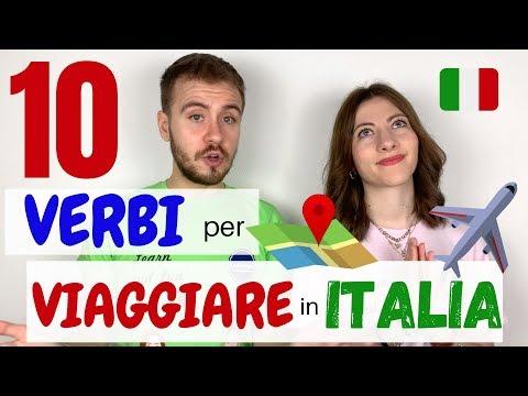 10 VERBI che DEVI CONOSCERE per VIAGGIARE in Italia! - Impara l'ITALIANO e Parti SUBITO! ✈️ 🇮🇹