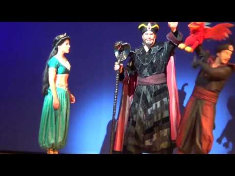 Video #23 of Aladdin A Musical Spectacular at Disney California Adventure  (8/15/2014)