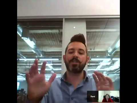 Social Media, Legal Blogs and Websites Interest Group V-cast #2: Rand Fishkin