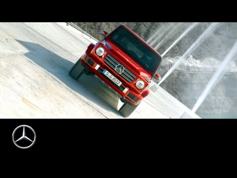 Mercedes G-Class Defies Gravity In New Promotional Video