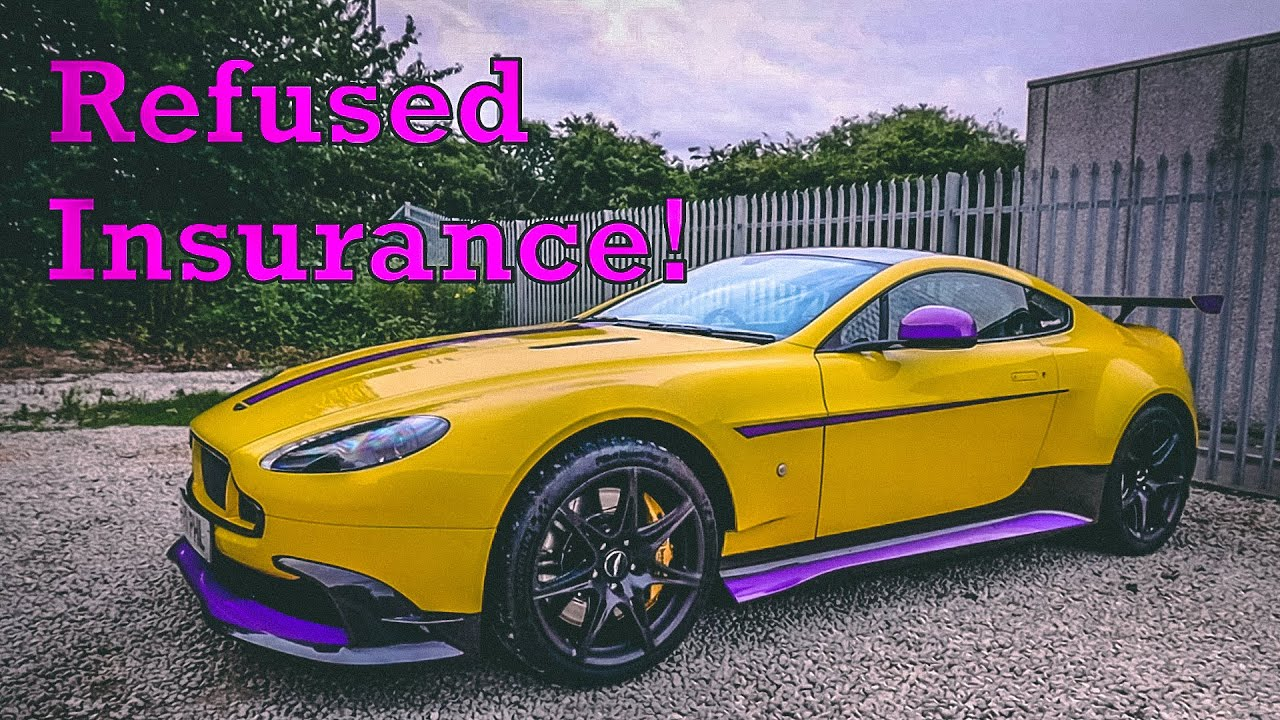 Supercar Insurance Refused Insurance Cover Youtube