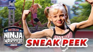 Will Payton Myler (Ninja Kidz TV) Make the Finals?! | American Ninja Warrior Junior | Universal Kids