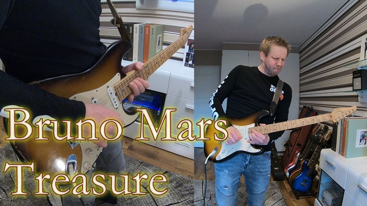 Bruno Mars Treasure Arranged For Guitar By Juha Aitakangas