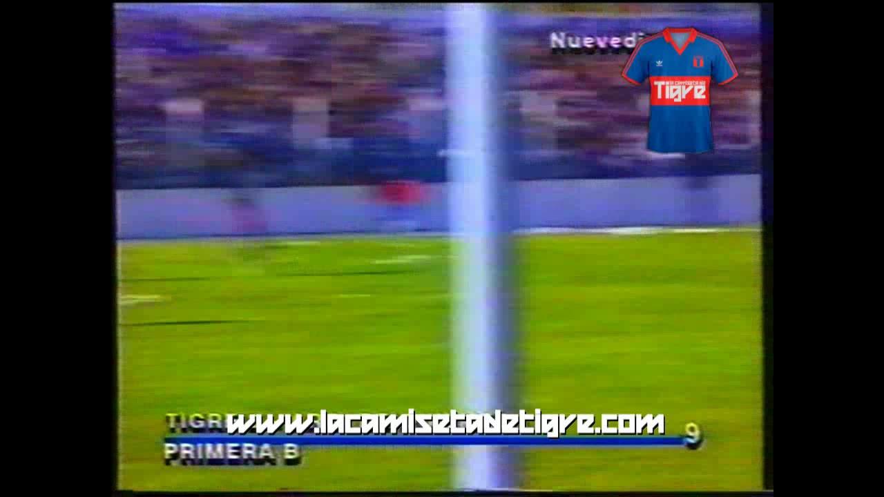 LA CAMISETA DE TIGRE - Gol de Cristian Ariel Fernández a Argentino de Quilmes (1994)