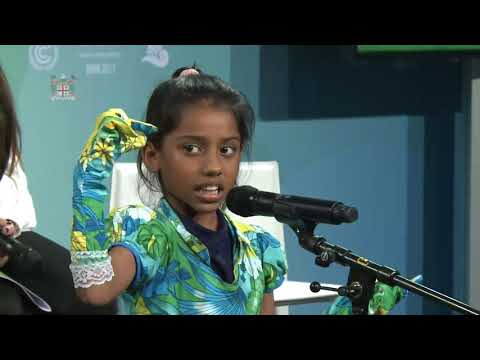 Shalvi Shakshi speech at the Youth and Future generations Day in Bonn, Germany
