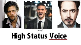 How to Have a Powerful Voice | The 5 Traits of a High Status Voice | Higher Status by Jason Capital