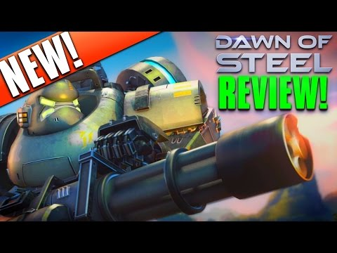 "DAWN of STEEL Game | ""FIRST GAMEPLAY""NEW iOS App/Game Launch Review! Episode #1!"