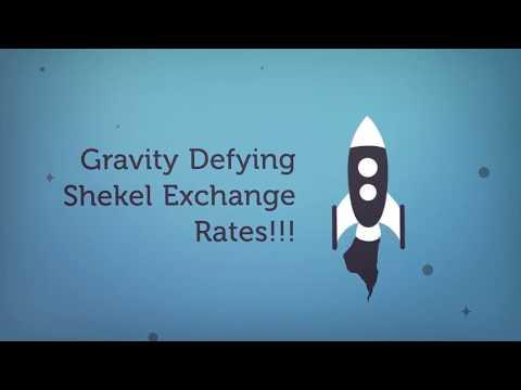 Gravity Defying Shekel Exchange Rates