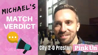 Norwich City 2-0 Preston | Michael Bailey video verdict