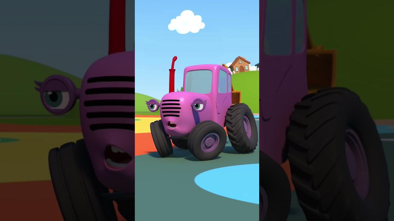 Детский смех - Синий трактор #Shorts