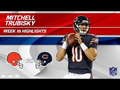 Mitchell Trubisky Highlights | Browns vs. Bears | NFL Wk 16 Player Highlights