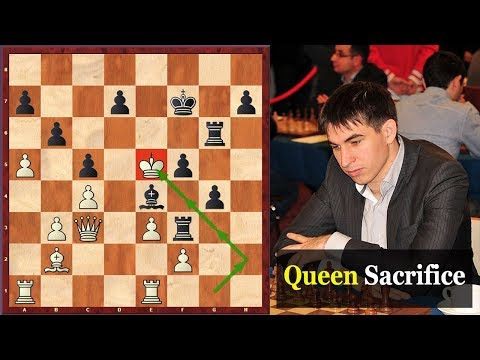 A Mesmerizing Queen Sacrifice Which Will Leave You Speechless!