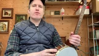 A quick tenor banjo repair