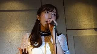角田睦美。「Girls」(西野カナ)、本町アポロシアター、18.08.04