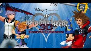 Kingdom Hearts Dream Drop Distance Review (Video Game Video Review)