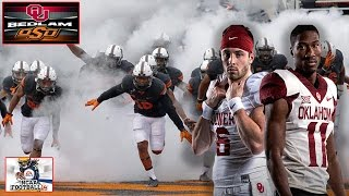 BEDLAM!!! #10 OKLAHOMA ST VS #9 OKLAHOMA - Game Decides Big 12 Champs!!!