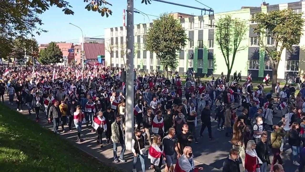 Протесты в Минске, 27.09.20