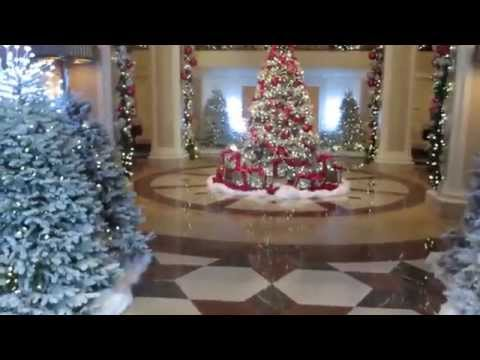The Beverly Wilshire Four Season Hotel Lobby in Beverly Hills 2013 is Stunning!