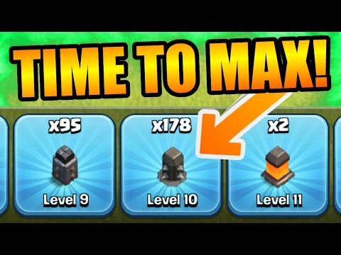 Clash Of Clans - MAXING OUT TOWN HALL 11! - WILL THERE BE LEVEL 12 WALLS?