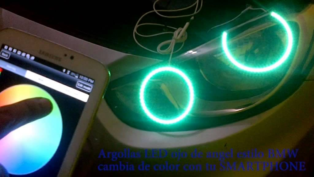 Ojo de ángel LED con ampliativo para tu SMARTPHONE - YouTube