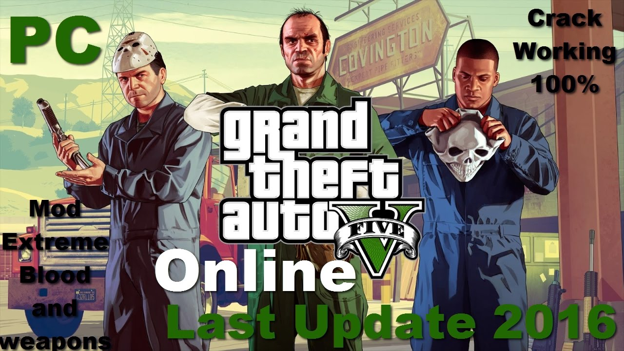 grand theft auto 5 crack reloaded