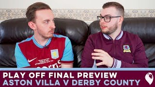 play off final preview aston villa v derby county