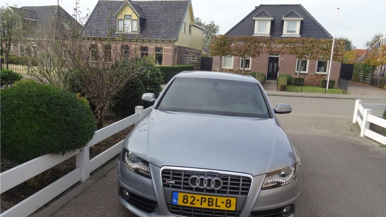 Audi A4 1.8 TFSI S-LINE NAVIGATIE XENON/LED VERLICHTING PDC ABT CHIP ...