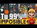 Un Verdadero Nivel De Dragon Ball Z 👊 - 99% Imposibles De Suscriptores #24   Mario Maker