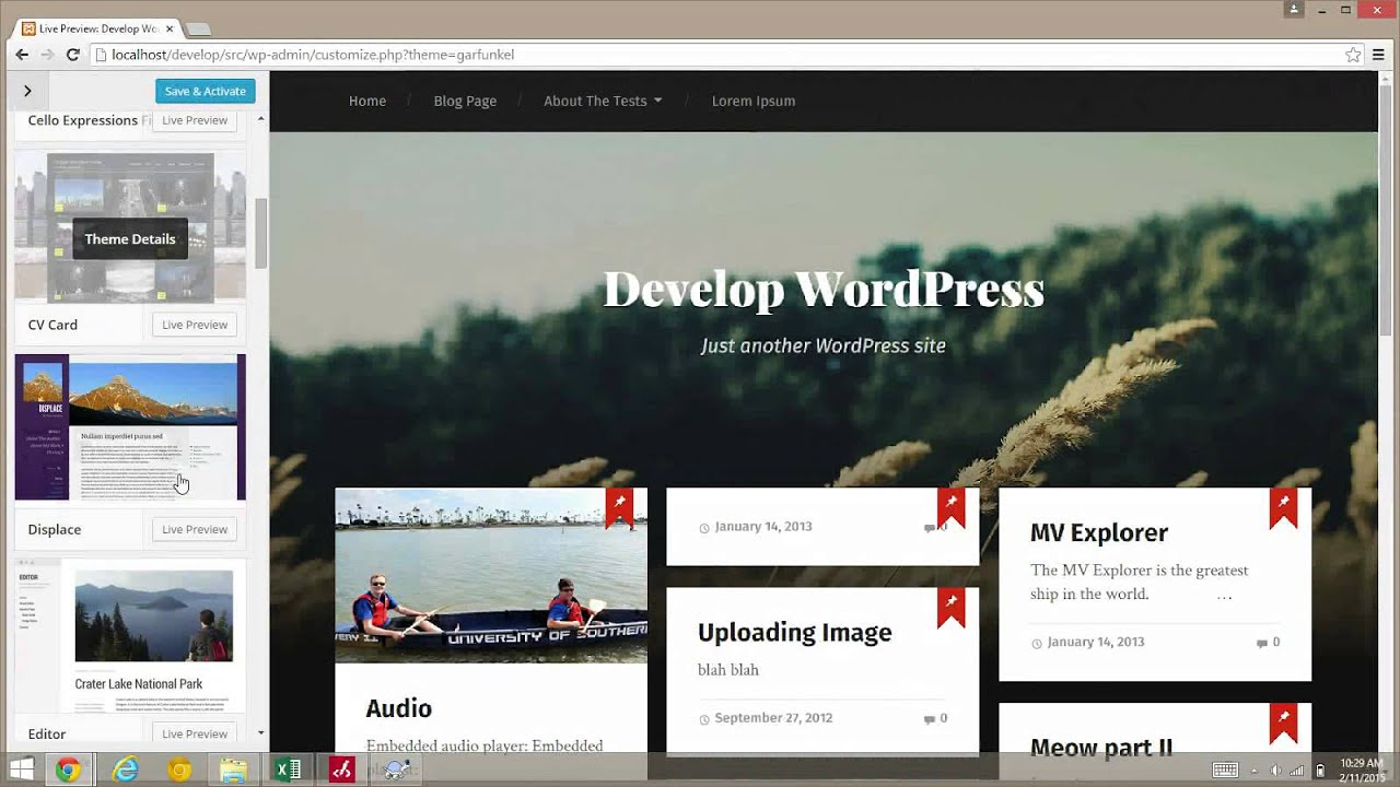 merge – Make WordPress Core