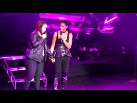 Brandy Ft Tammy - Boy Is Mine - Slayana tour - Live Sydney, Australia  20/06/2016