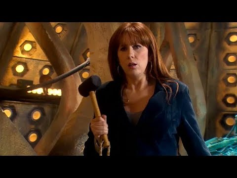 Download Youtube: Donna Noble Vs a Sontaran - The Poison Sky - Doctor Who - BBC