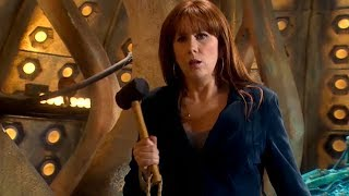 Donna Noble Vs a Sontaran - The Poison Sky - Doctor Who - BBC