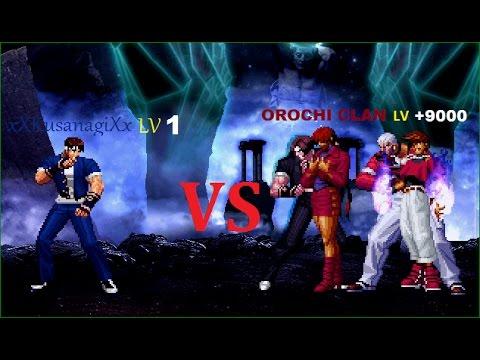 [KOF Mugen] Ki Shingo VS Orochi's Guardians