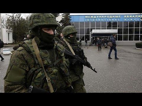 Ukraine's acting president demands Russia stops 'provocations' in Crimea