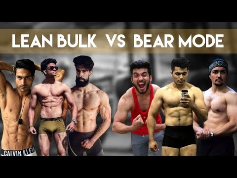 How to Build Muscle? | Lean Bulk Vs Bear Mode