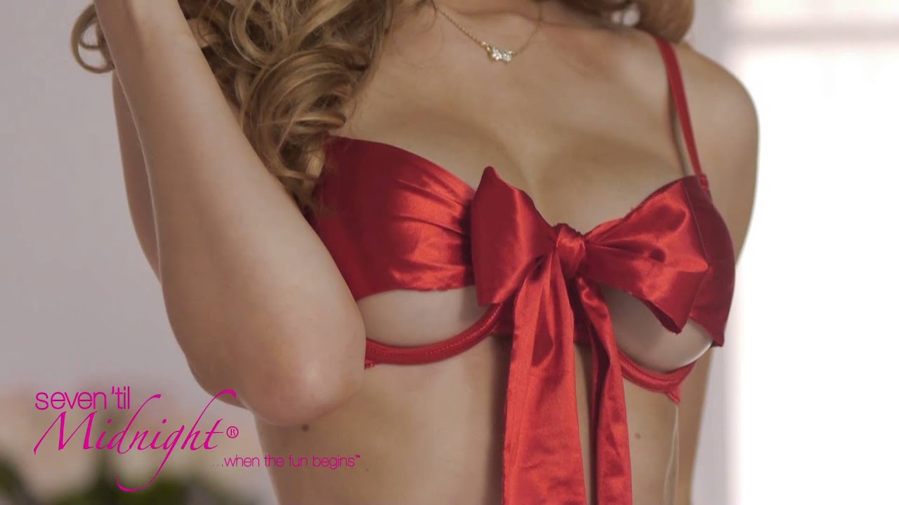 4ae9801f2593c All Wrapped Up Bow Bra And Thong Set - YouTube