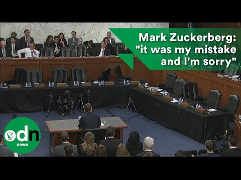 "Mark Zuckerberg: ""it was my mistake and I'm sorry"""