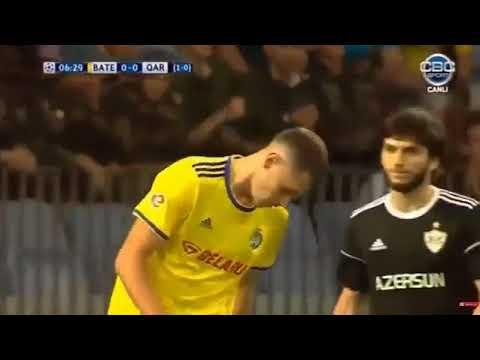 BATE BARİSOV - QARABAĞ FK 1:1 BÜTÜN QOLLAR!! ( İCMAL!) 14.08.2018