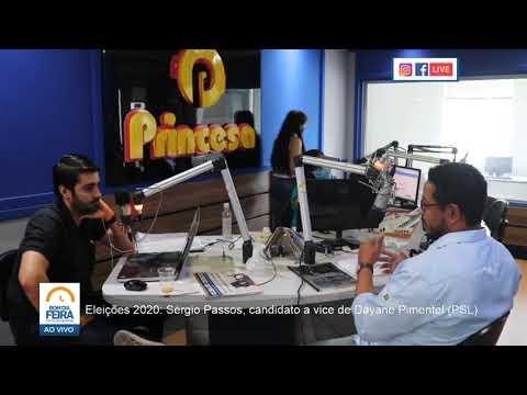 Eleições 2020: Conheça Sérgio Passos, candidato a vice de Dayane Pimentel (PSL)