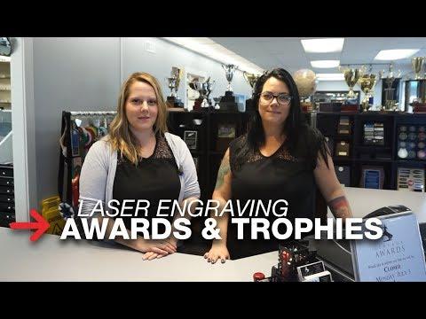 Laser Engraving Awards | Engraving Trophies | Speedy 300