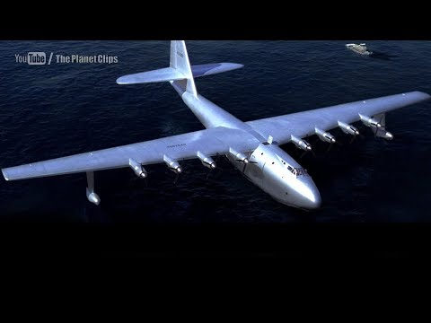 "Leonardo DiCaprio Flying Huge Flying Ship ""Spruce Goose"" H-4 Hercules 