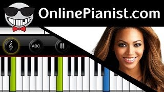 Beyonce - Love On Top - Piano Tutorial & Sheets (Easy Version)