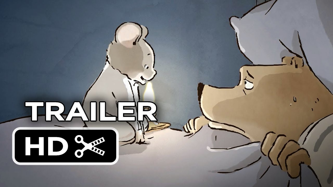 Ernest Celestine Official Us Release Trailer 2014 Oscar Nominated Animated Movie Hd Youtube