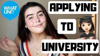 UNIVERSITY APPLICATION PROCESS | My UCAS Journey!