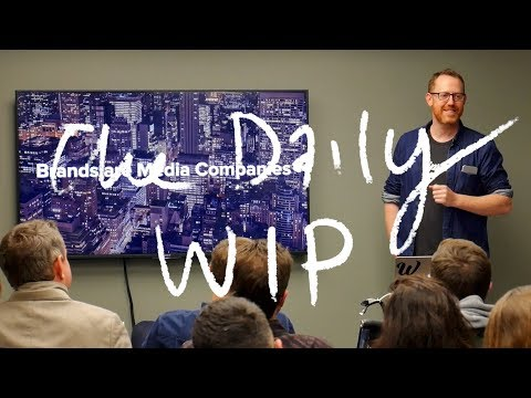 Brands are media companies, the 30min talk - EP 49 The Daily WIP